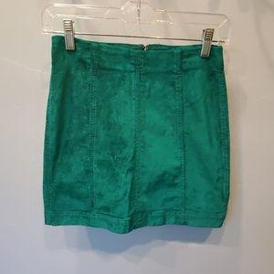 Rare Free People Modern Femme Skirt